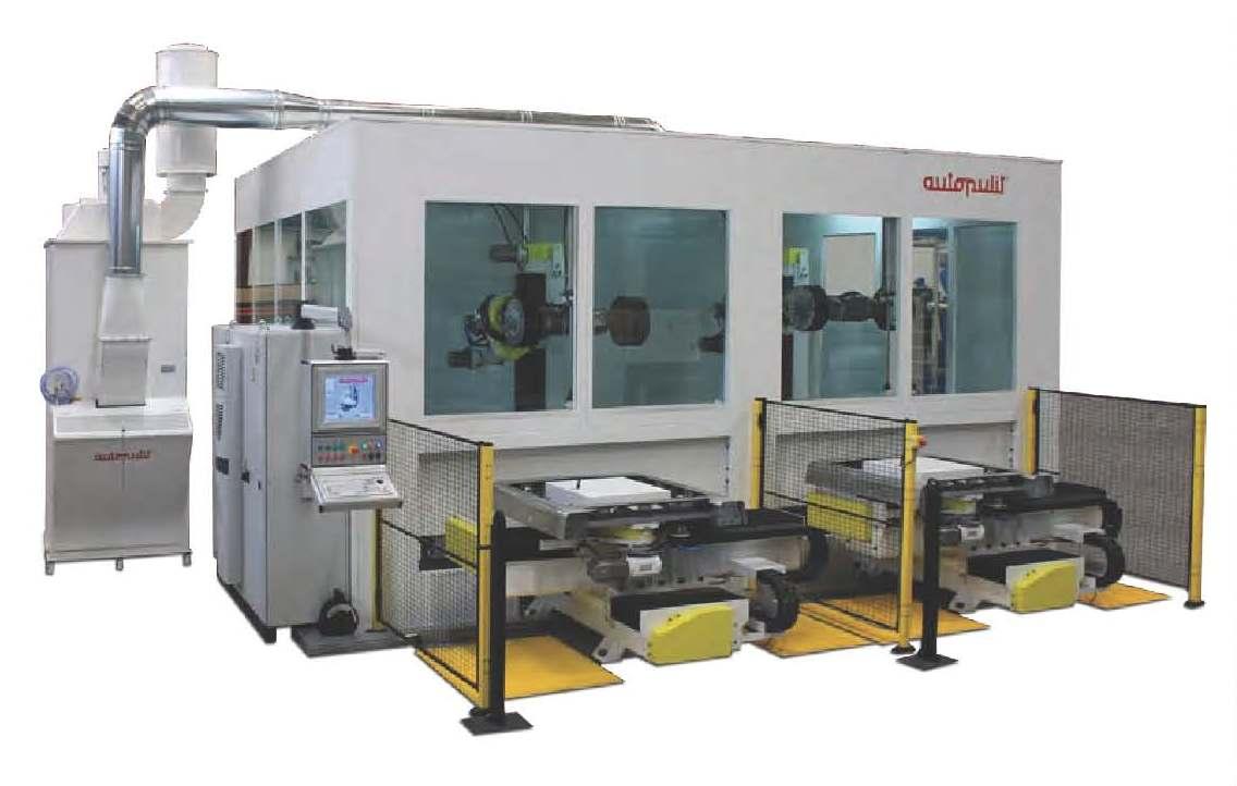 CNC gestuurde polijstmachine