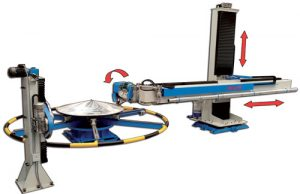 CNC gestuurde slijpmachine